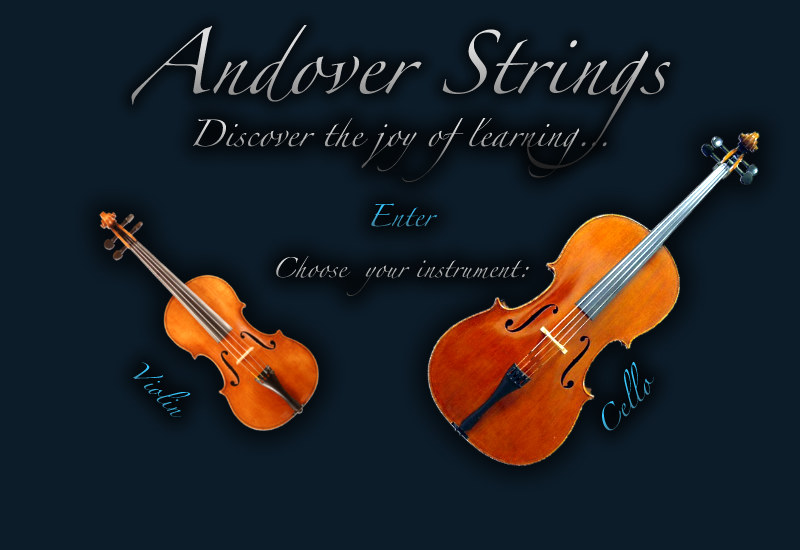 Andover Strings — Discover the joy of learning…